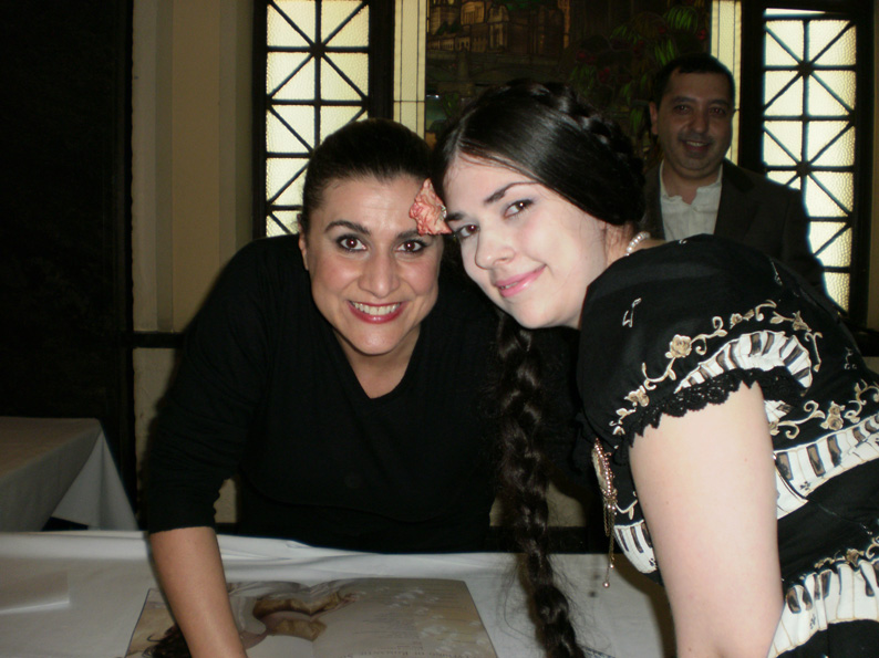 Cecilia and I