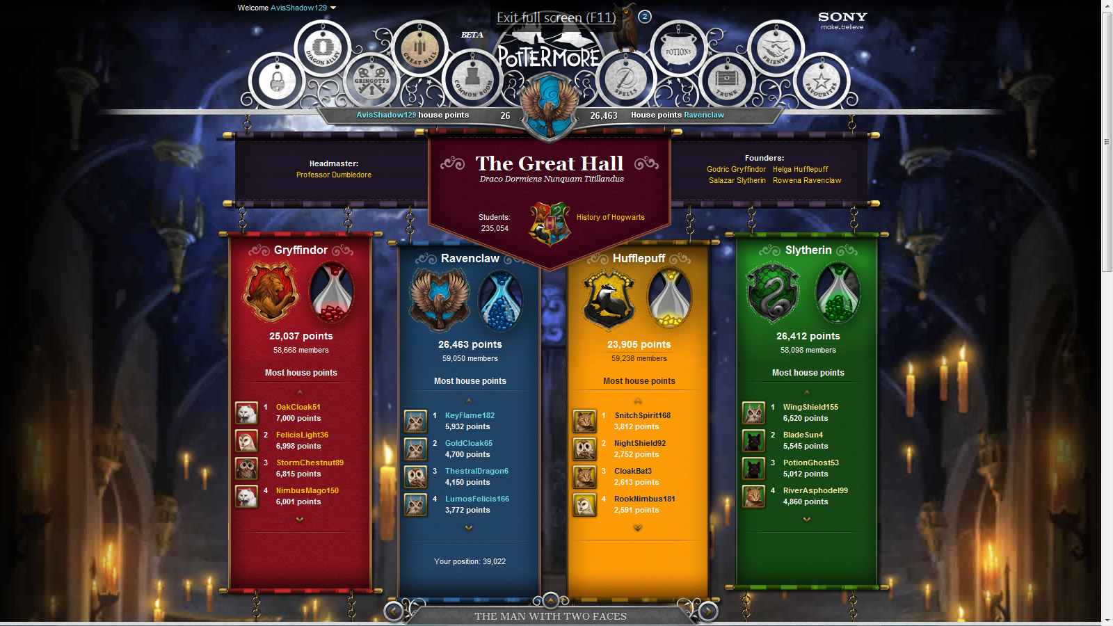 pottermore-greathall
