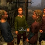 The orphans celebrate after I assassinate Grelod. Yaaayy!