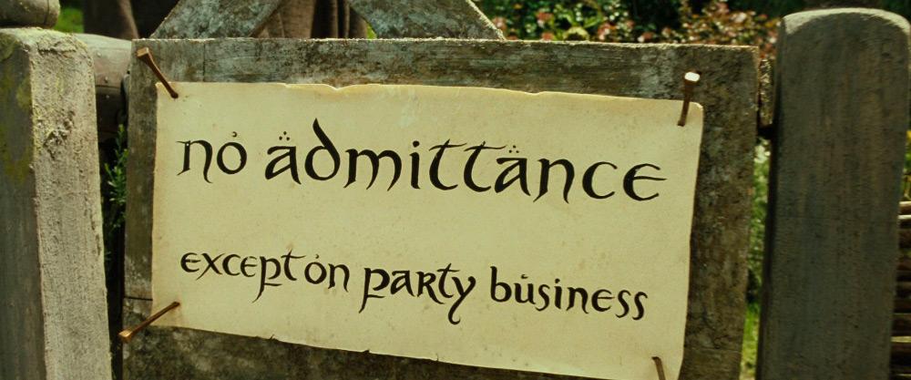 noadmittance